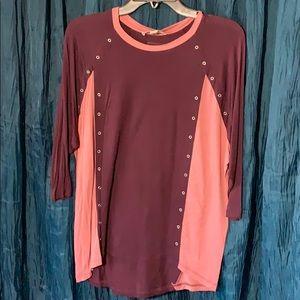 Ladies small 3/4 sleeve lightweight shirt